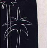 Black Ink on Carton, 20x35 cm, 2001.