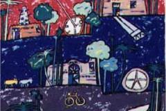 Acrylic on Canvas, 2003.